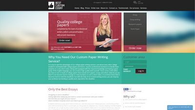 Very best made to order essay article writing professional graded and also by children